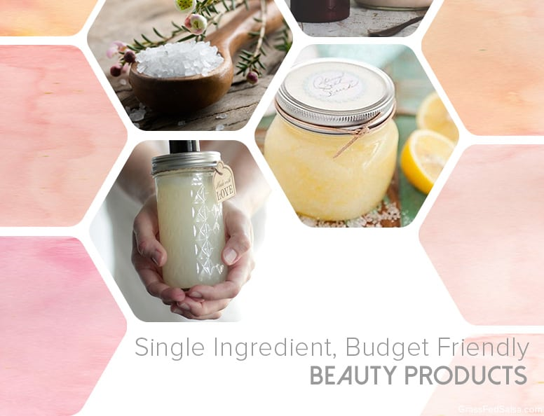 Single Ingredient Budget Friendly Beauty Products