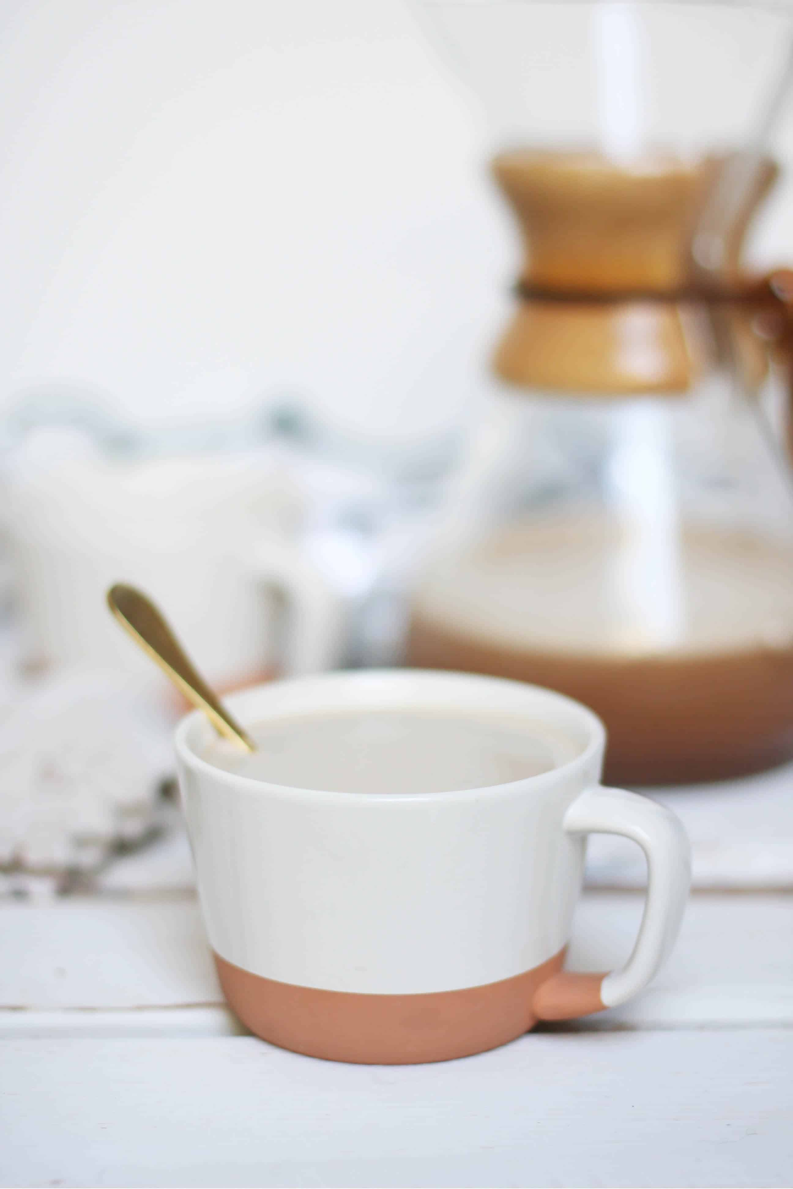 Healthy Mocha Latte - dairy free, caffeine free