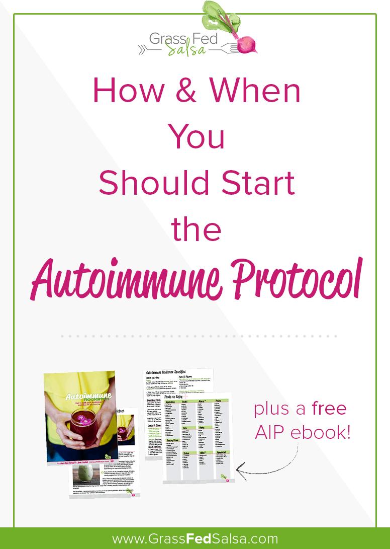 How to start the Autoimmune diet AIP