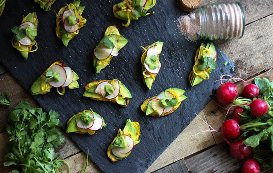 Get the recipe for this AIP and gluten free Sweet Potato Avocado Toast