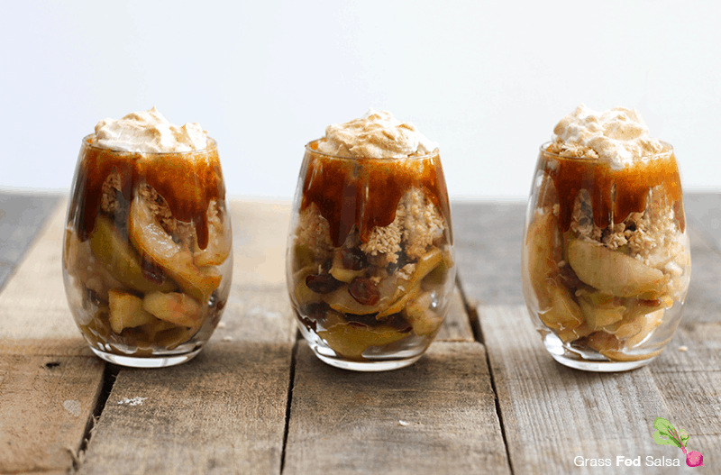 AIP Caramel Apple Parfaits