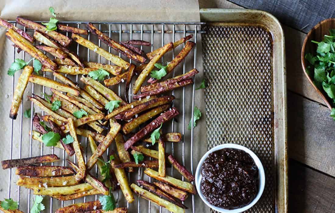 Sweet Potato Fries and Bacon Jam Dipping Sauce (AIP)