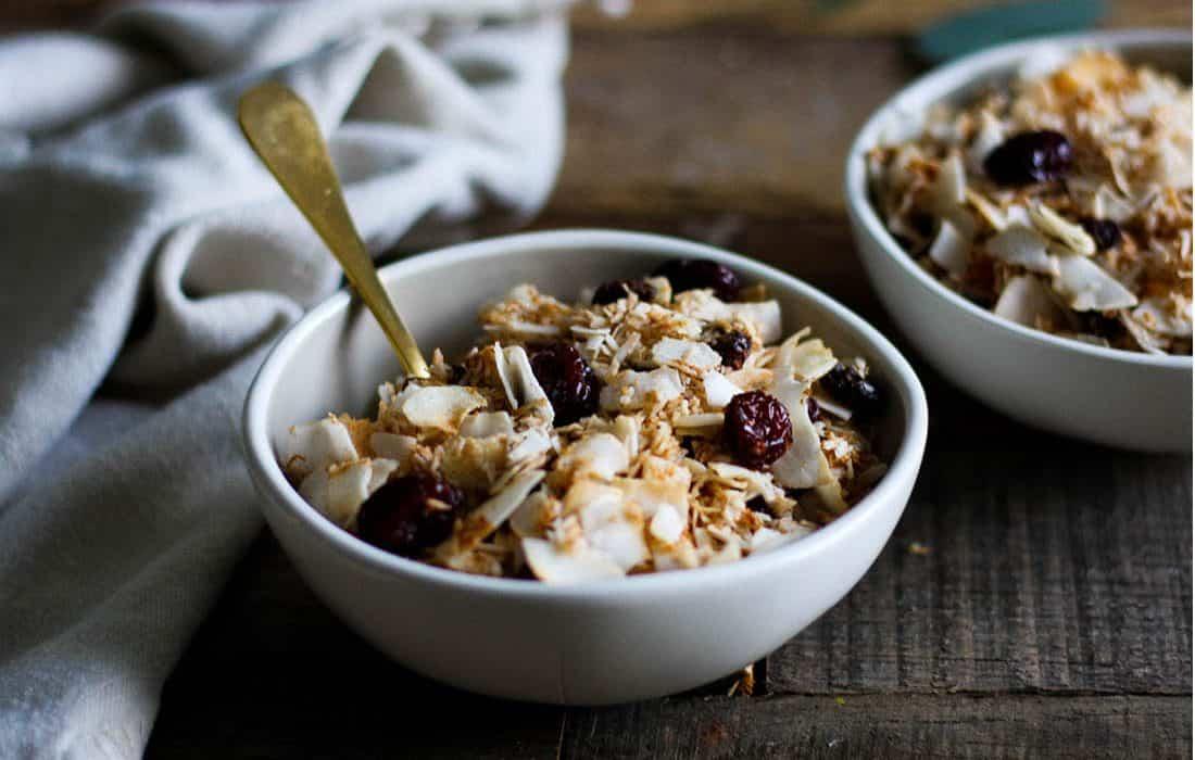 Pumpkin Spice Granola Cereal (AIP, nut free, gluten free)