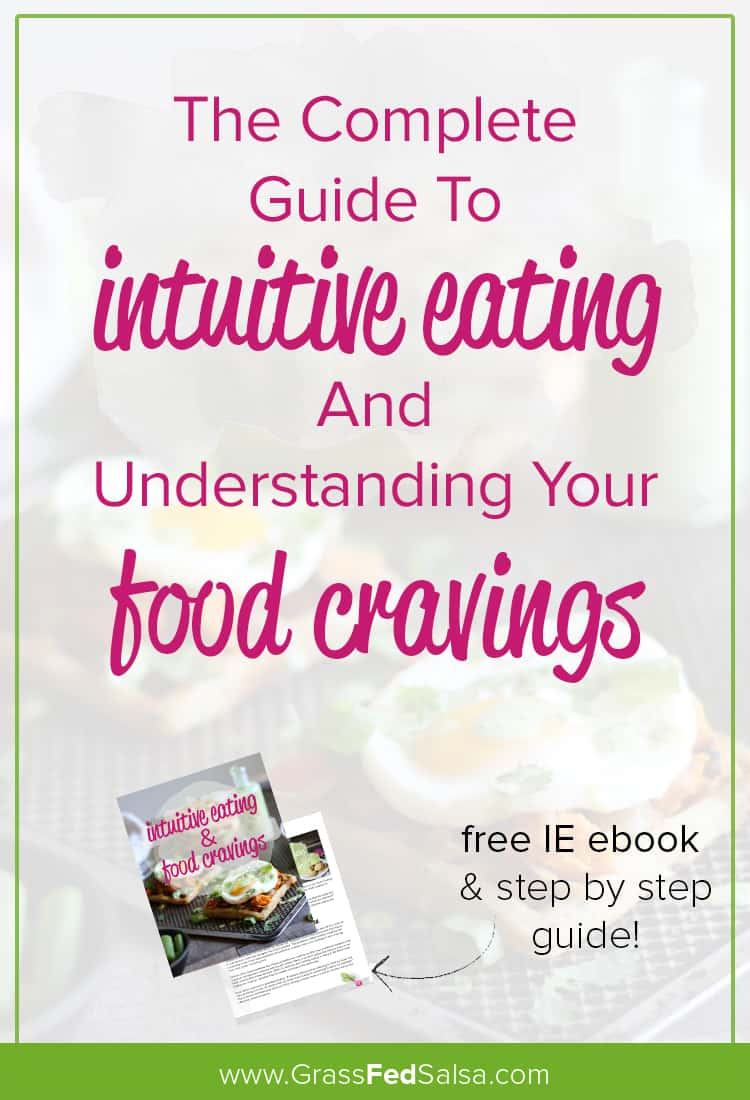 This is your guide on how to stick to intuitive eating when you have food cravings. Learn exactly what your cravings are telling you, and what to do about them.