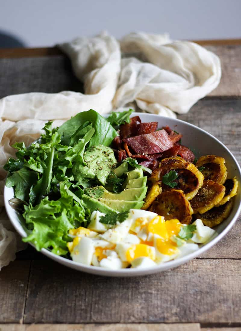 Plantain Buddha Bowl - Grain Free, Paleo, Whole 30