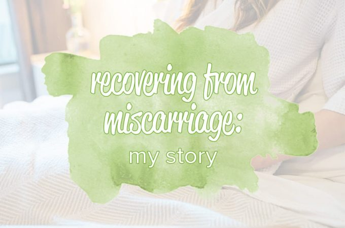 Recovery from Miscarriage