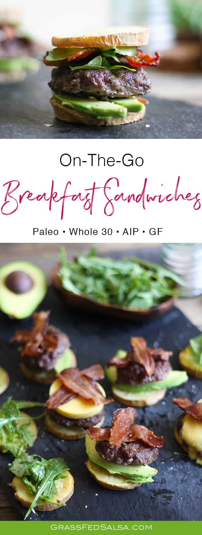 Make Ahead Breakfast Sandwich | AIP, Paleo, Whole 30
