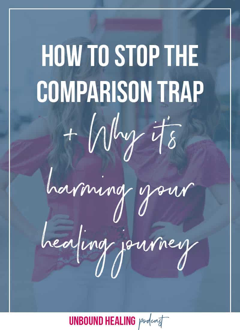 How To Stop The Comparison Trap