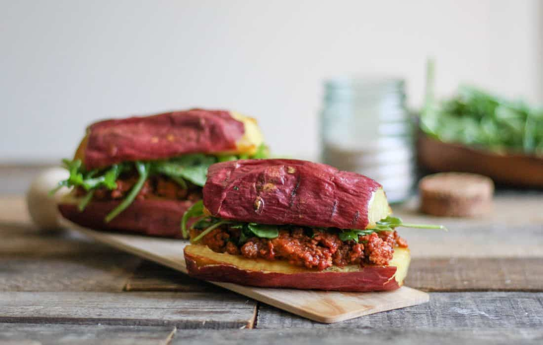 Homemade Tomato-free Sloppy Joes recipe with Sweet Potato Buns | Whole 30, Paleo, AIP, Gluten Free