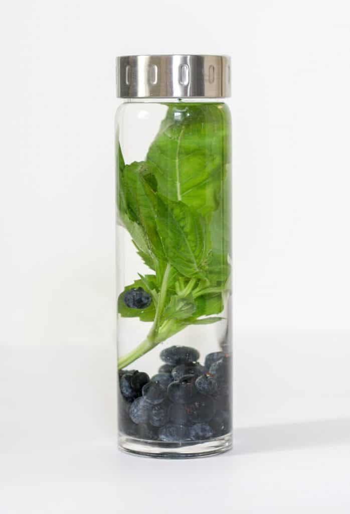 I can't believe how easy and effective these fruit infused water recipes are! They help support healthy detox function and taste delicious. Love this Blueberry Basil one!