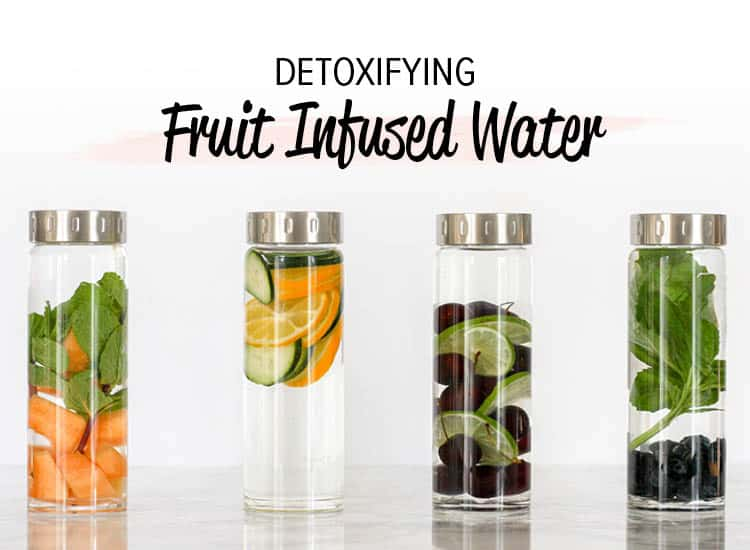 I can't believe how easy and effective these fruit infused water recipes are! They help support healthy detox function and taste delicious.