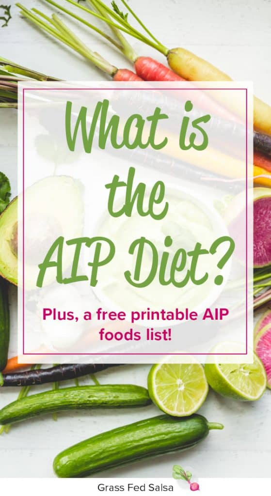 What is the AIP Diet (aka the Autoimmune Protocol or Autoimmune Paleo diet)? Plus, a free printable AIP Foods list!